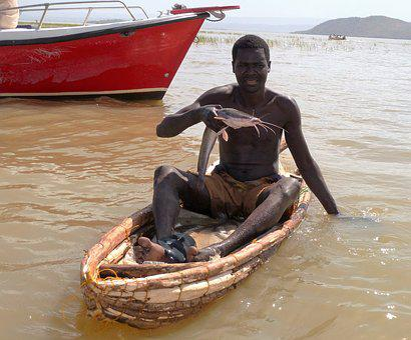 Fishing, Africa, Food, Visser, Fish, Kenya, Man, Black