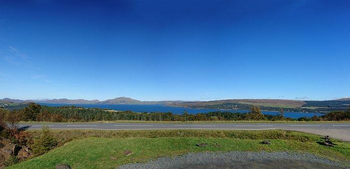 Blue Sky, Scotland, Scenic, Ocean, Coast, Scottish
