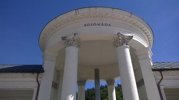 Mariánské Lázně, Czech Republic, Architecture, Facade