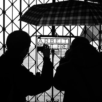 Concentration Camp, Work, Dachau, Germany, Monument