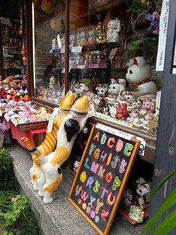 Cats, Cat Figurines, Decorative Item, Animal