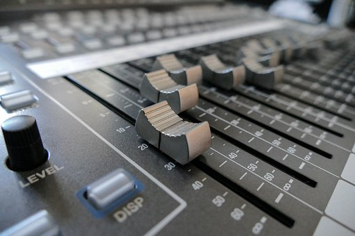 Mixer, Fader, Digital Console, Audio Equipment