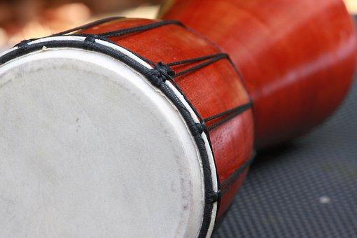 Drum, Drums, Instrument, Djembe, Music, Rhythm, Sound