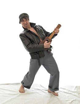 Guitarist, Guitar, Ukulele, Performance, Emotion