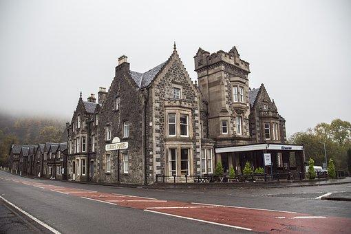 Building, Old, English, Manor, Scottish, Architecture