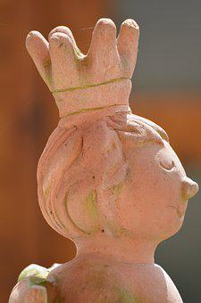 Sound, Fig, Statue, Prince, Decoration, Face, Ceramic