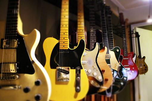Guitars, Nashville, Music, String, Fretboard