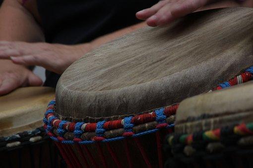 Drum, Music, Rhythm, Djembe, Musician, Instrument, Hand