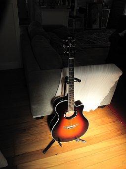 Guitar, Instrument, Music, Acoustic, Sound