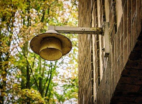 Lost Places, Lantern, Lamp, Light, Broken, Abandoned