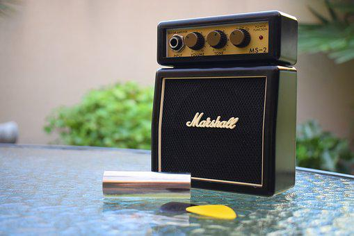 Marshall, Amplifier, Music, Garden, Pact, Guitar, Under
