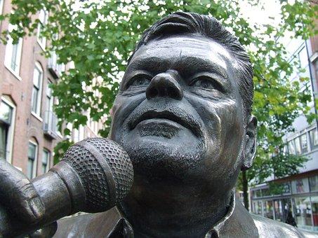 André Hazes, Singer, Music, Jordaan, Amsterdam, Meeting