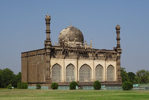 Mosque, Gol Gumbaz, Mausoleum, Monument