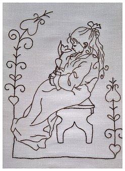 Art From Sweden, Motif Of The Artist, Carl Larsson