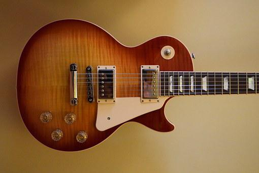 Guitar, Gibson, Music, Instrument, Les Paul, Rock