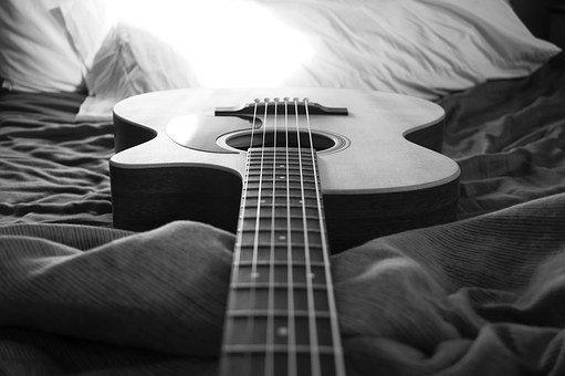 Black And White, Notes, Music, Musician, Body, Volume