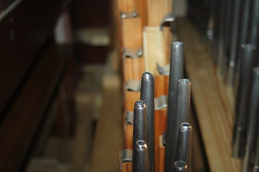 Pipes, Organ, Choir, Church, Music