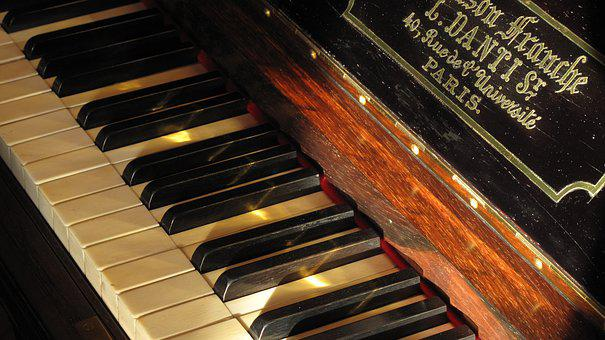 Piano, Keyboard, Piano Keys, Music, Old Instrument