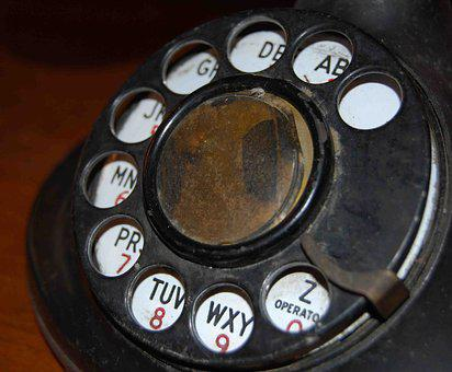 Phone, Antique, Old, Telephone, Dial, Retro, Vintage
