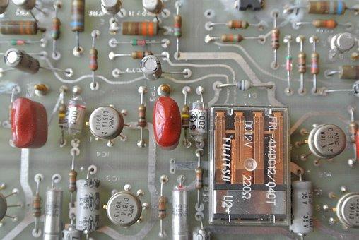 Computer, Parts, Old, German, Technology, Internet
