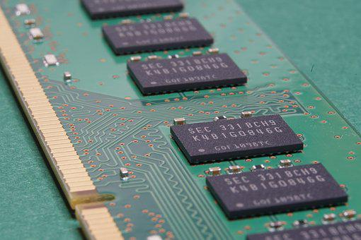Memory, Computer, Component, Pcb