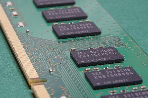 Memory, Computer, Component, Pcb