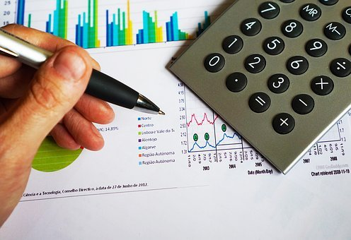 Office, Pen, Calculator, Computation, Data, Chart