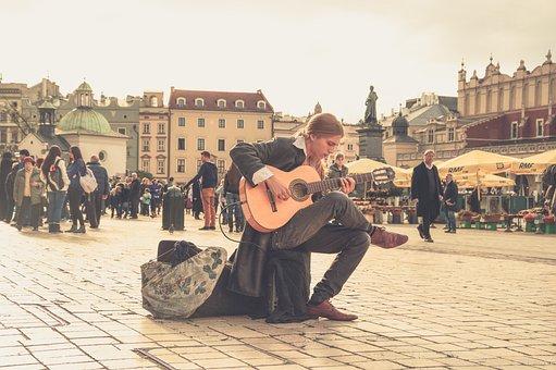 Streets, People, Music, Musician, Street Art