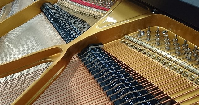 Piano, Strings, Musical Instrument, Play Piano