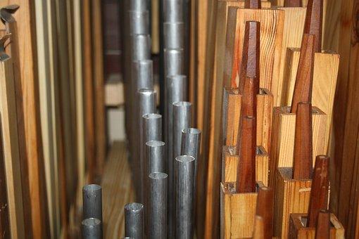 Pipes, Organ, Choir, Church, Music