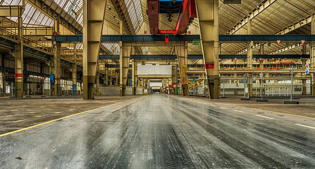Industry, Lost Places, Factory, Production