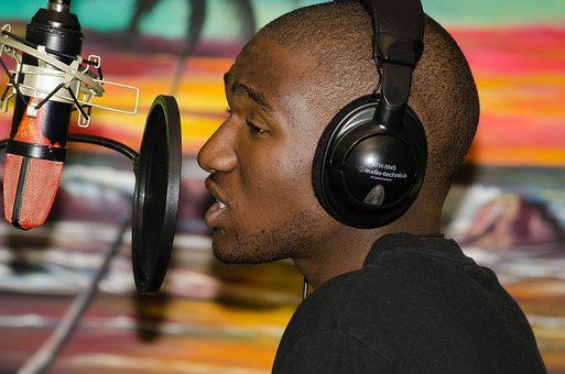 Rap, Rapping, Hiphop, Hip-hop, Recording, Studio