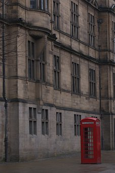 Red, Phone, Booth, Telephone, Uk, England, London