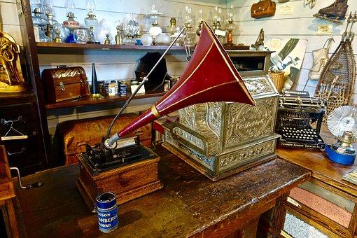 Phonograph, Vintage, Gramophone, Music, Antique, Retro