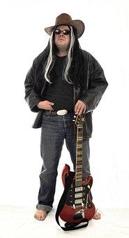 Rock Star, Rock, Guitarist, Rocker, Electric Guitar