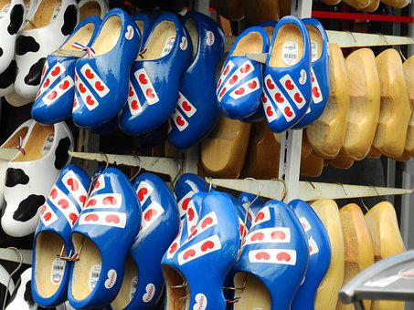 Sale, Music, Business, Wooden Shoes, Shoes, Holland