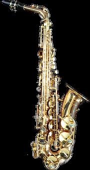 Saxophone, Musical Instrument, Music