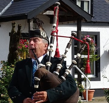 Scotland, Bagpipes, Musical Instrument, Jock, Music