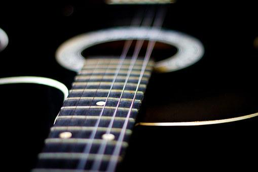 Guitar, Strings, Music, Stringed Instruments, Song
