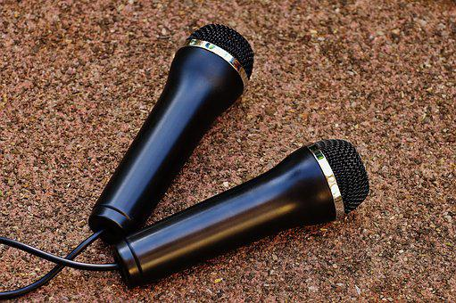 Microphone, Music, Micro, Sound, Singing, Sing, Stage