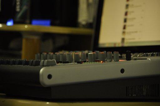 Mixer, Sound, Home, Studio, Record, Volume