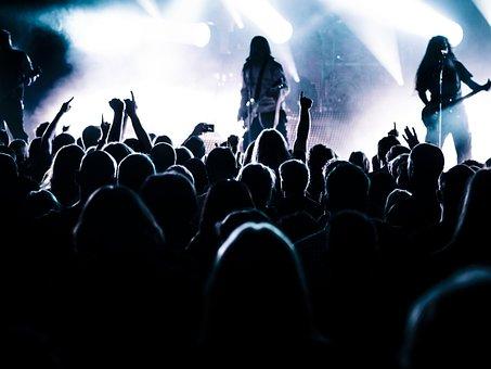 Concert, Live, Stage, Band, Metal Band, Metal