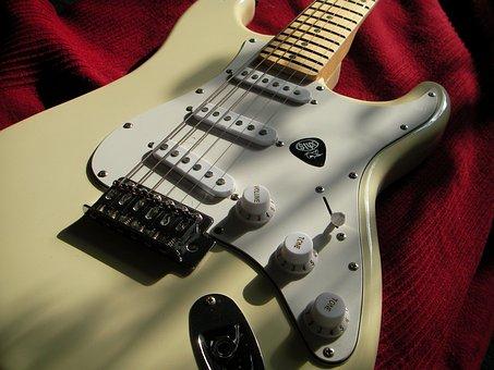 Stratocaster, Electric Guitar, Music, Guitar