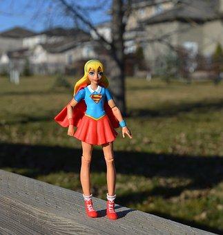 Supergirl, Superhero, Girl, Power, Strength, Costume
