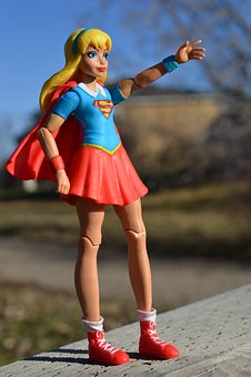 Supergirl, Superhero, Action Figure, Power, Female