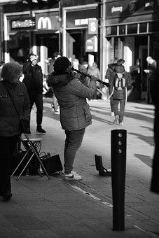 Musician, Street, Performance, Urban, Person, Artist