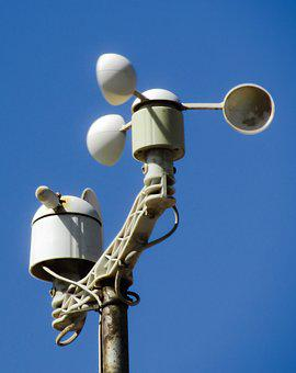 Anemometer, Wind Gauge, Gauge, Wind, Weather, Equipment