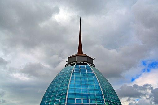Architecture, Dome, Building, Domed Roof, Metal, Glass