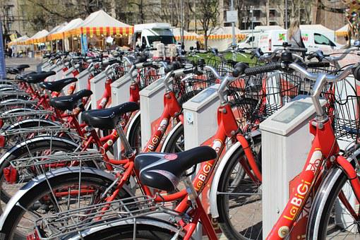 Bicycles, Bike Sharing, Transport, Mobility