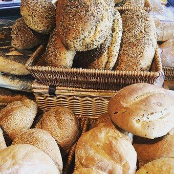 Farm Shop, Organic, Fresh, Bread, Fruits And Vegetables